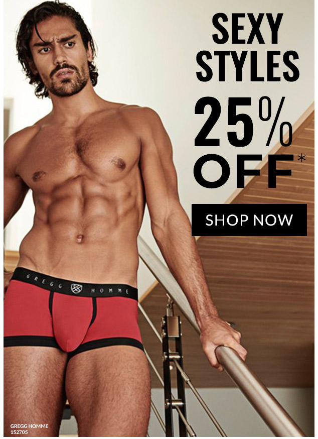 Sexy Sale 25% OFF