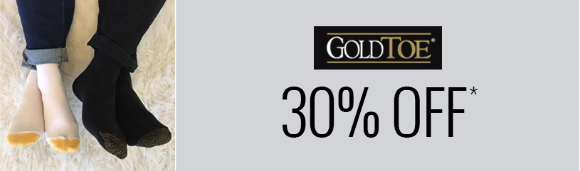 Gold-Toe - favorite brands sale 30 pct off