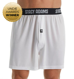 Stacy Adams Moisture Wicking ComfortBlend Boxer Short SA1000